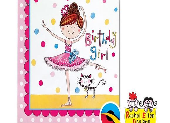 Rachel Ellen Ballerina Party Napkins  (x 20)