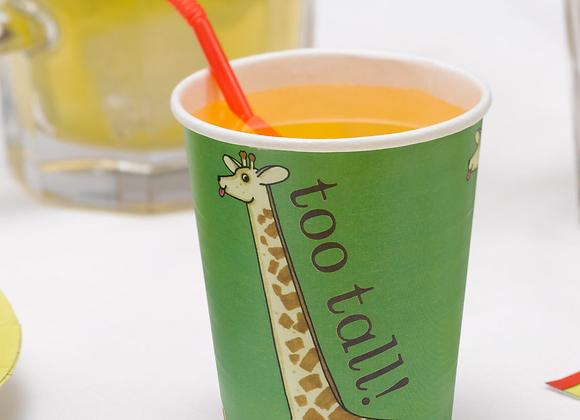 Dear Zoo Paper Cups