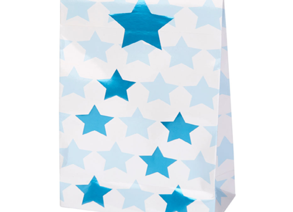 Blue Star Party Bags (x 5)