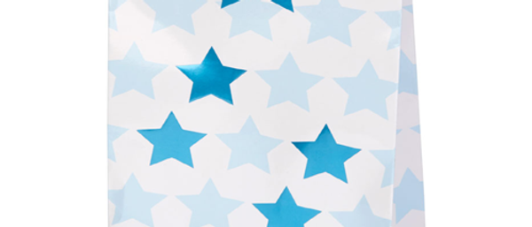 Blue Star Party Bags