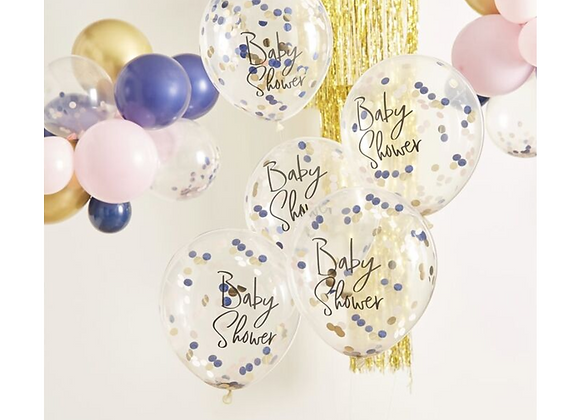 baby shower balloons, neutral baby shower balloons, balloons for a baby shower, baby shower decorations, gender neutral decs