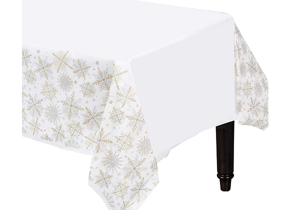 Snowflake Design Tablecover