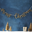 Thumbnail: Gold Wooden Merry Christmas Garland