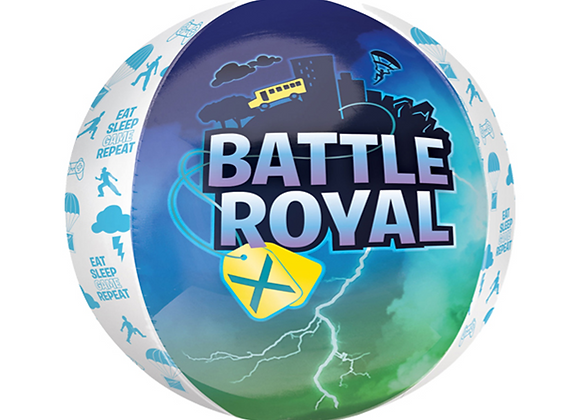 "Inflated Battle Royal 16"" Orbz Balloon"