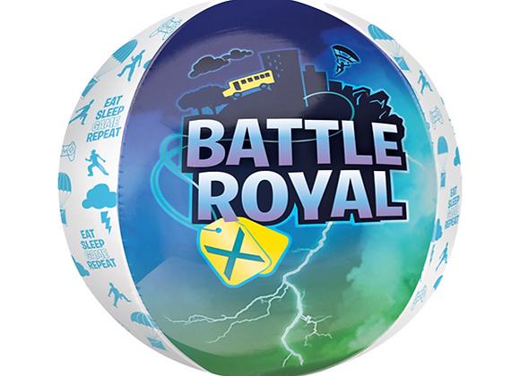 """Battle Royal 16"""" Orbz Balloon"""