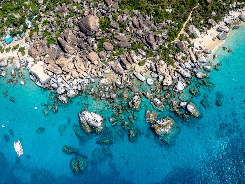 'On The Rocks', Virgin Gorda, British Virgin Islands