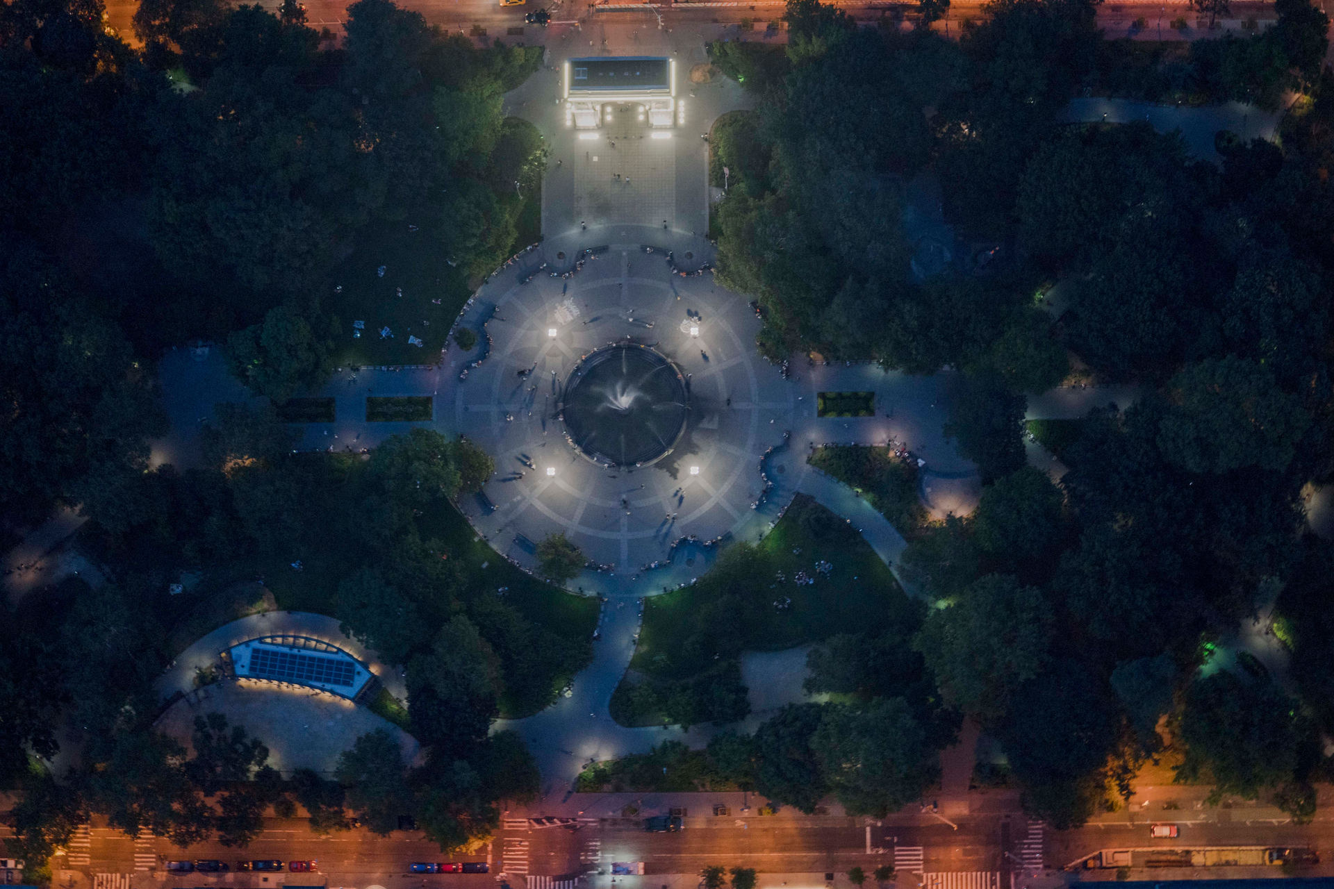 'Night Moves', Washington Square, NYC