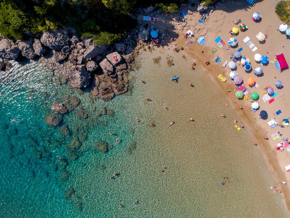 'Mesmerize', Glyfada Beach, Corfu, Greece