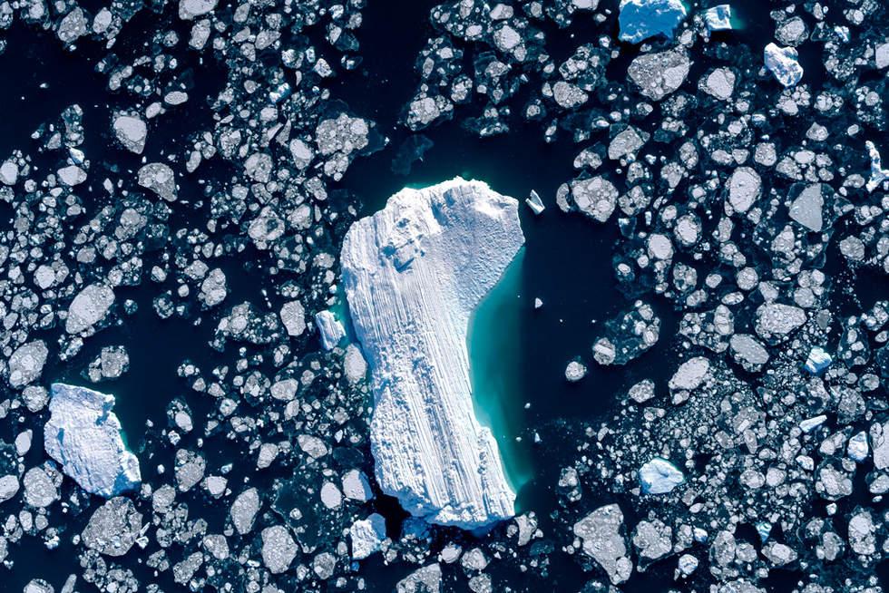 'Footprint', Icefjord, Illustiat, Greenland