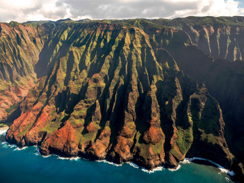 'Mighty Paws', Napali Coast, Kauai, Hawaii