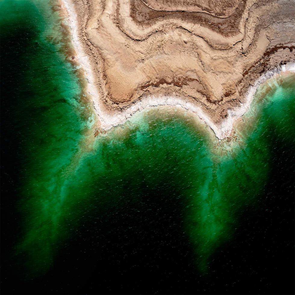 'Deep Star', Dead Sea, Israel (Square version)