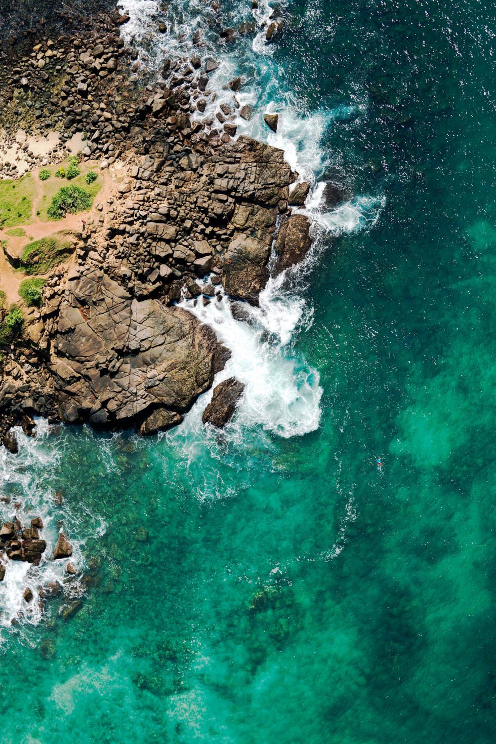 'Lanka Love', Mirissa Beach, Sri Lanka