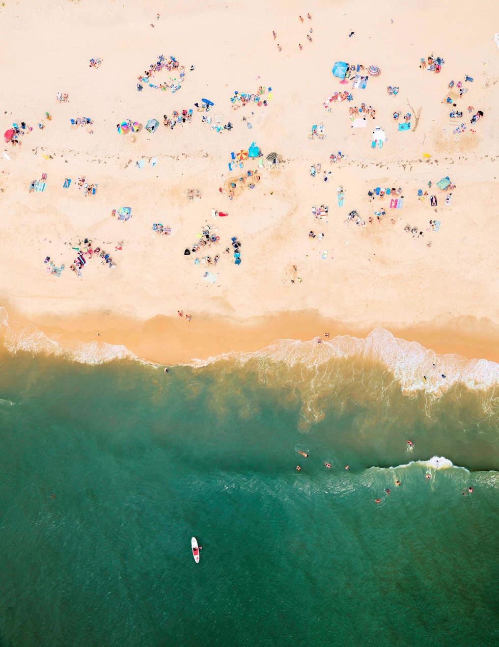 'Circles' at Main Beach, East Hampton
