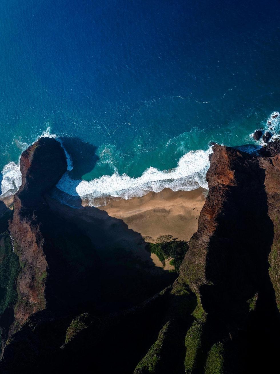 'Earth Power' - Na Pali Coast, Kauai