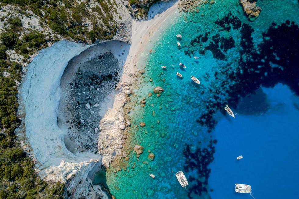 'The Opening', Ermitis Beach, Paxos, Greece