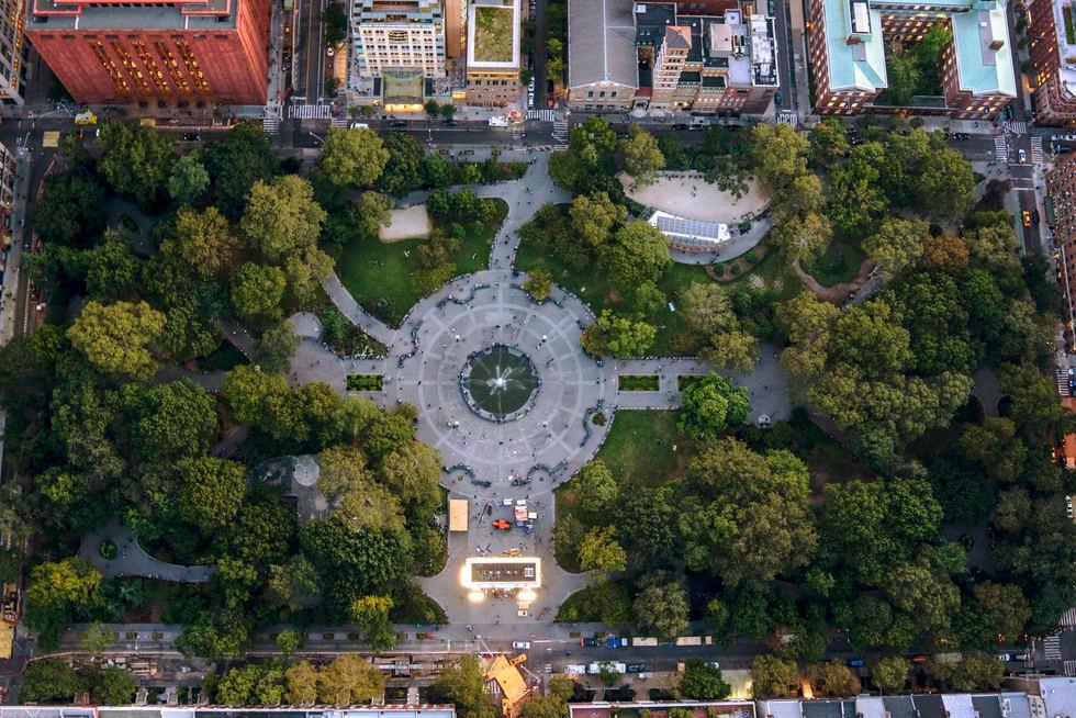 'Over the Square', Washington Park, NYC