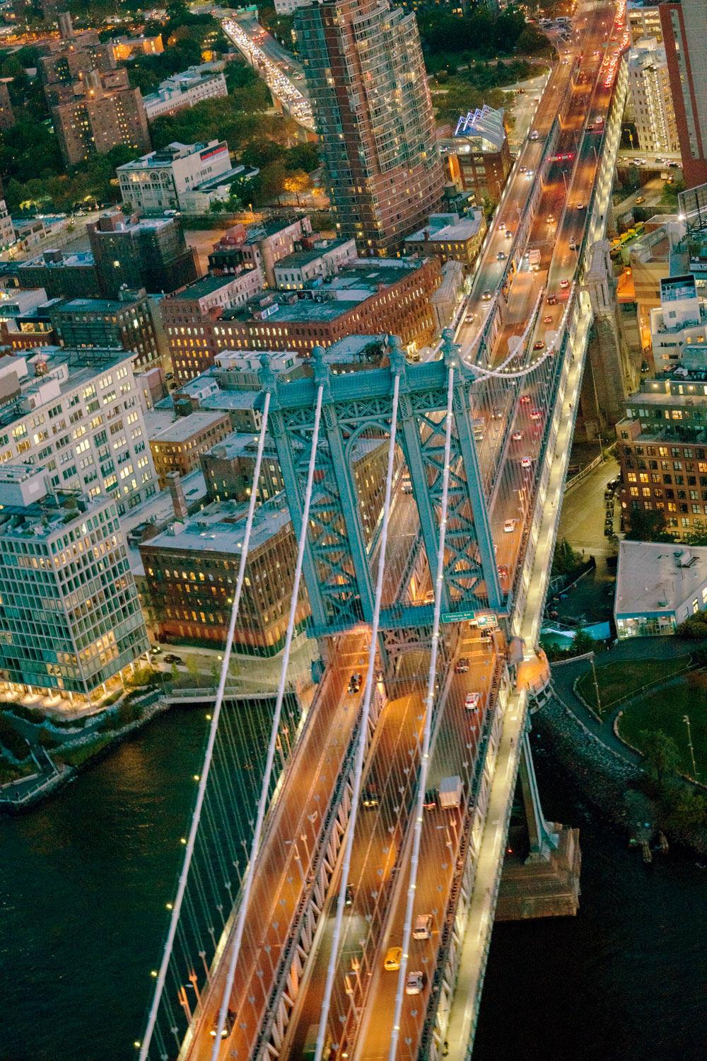 'Inside Out' - Manhattan Bridge, NYC