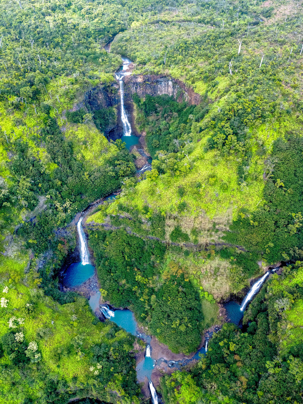 'Planetary Soul' - Kahili Falls - Kauai