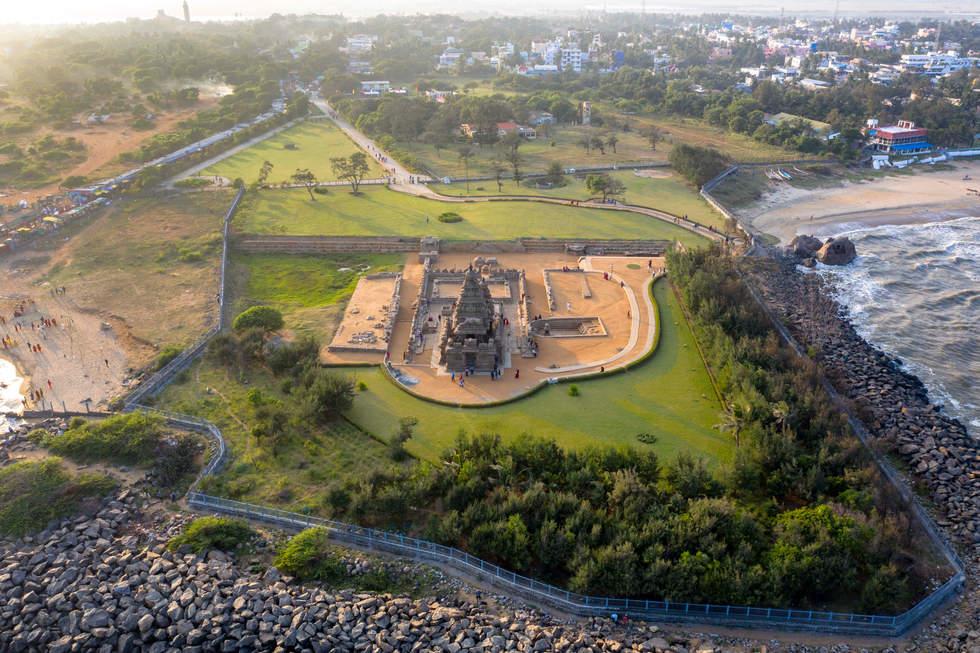 700 A.D., Shore Temple (Unesco Heritage Site), Chennai, India