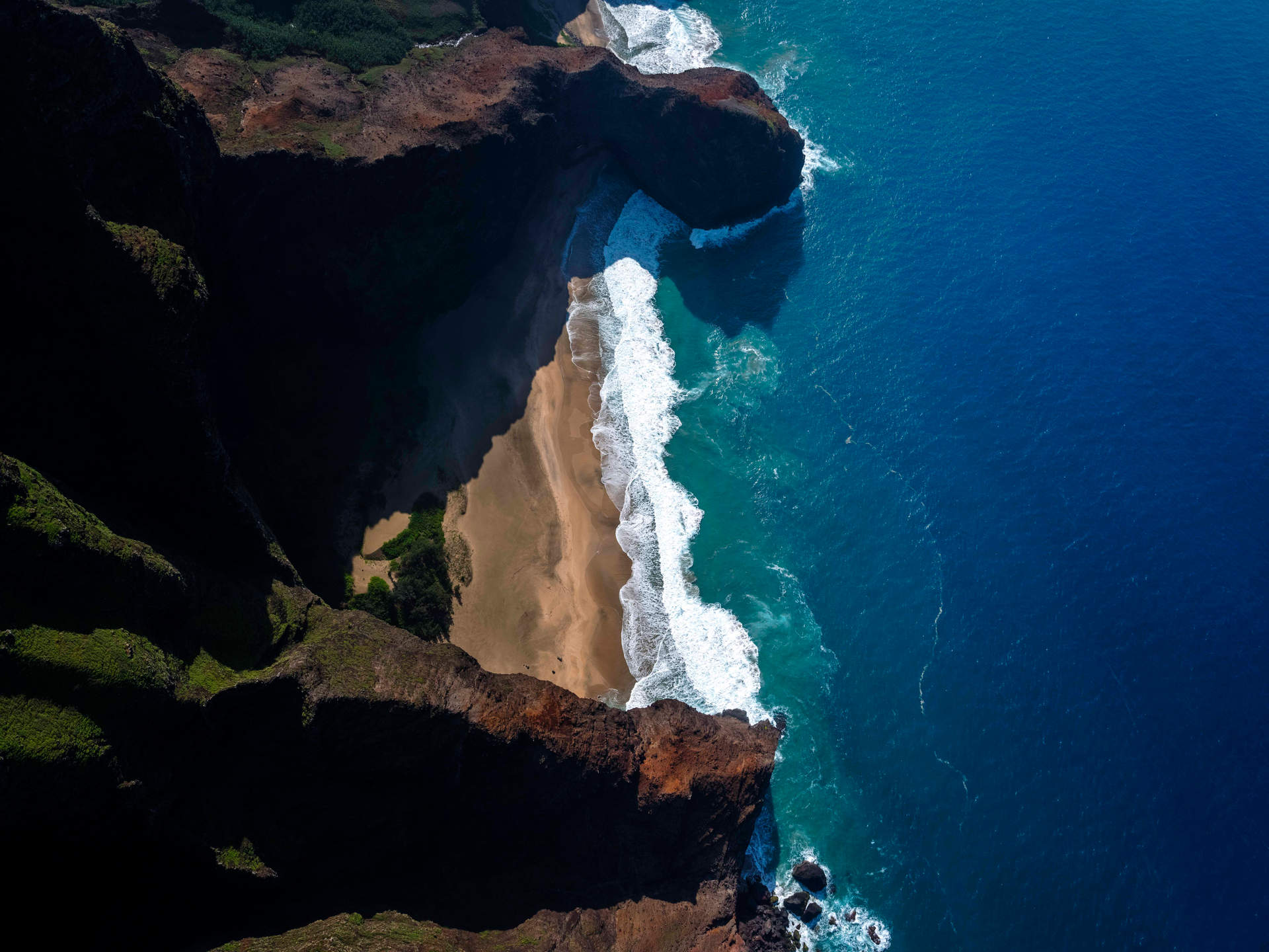'Earth Power', Na Pali Coast, Kauai, Hawaii