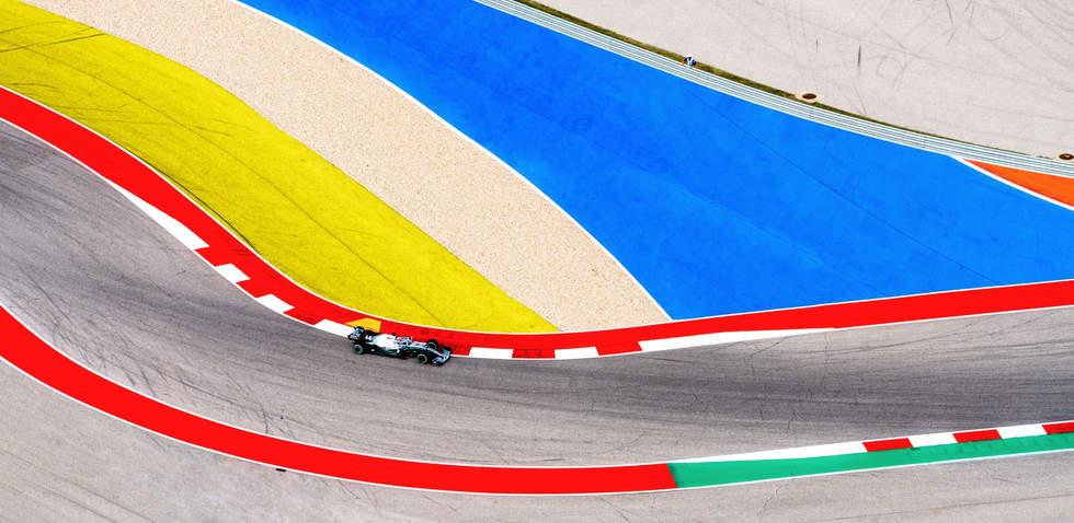 'Laps', Formula 1, Circuit of the Americas, Austin, Texas