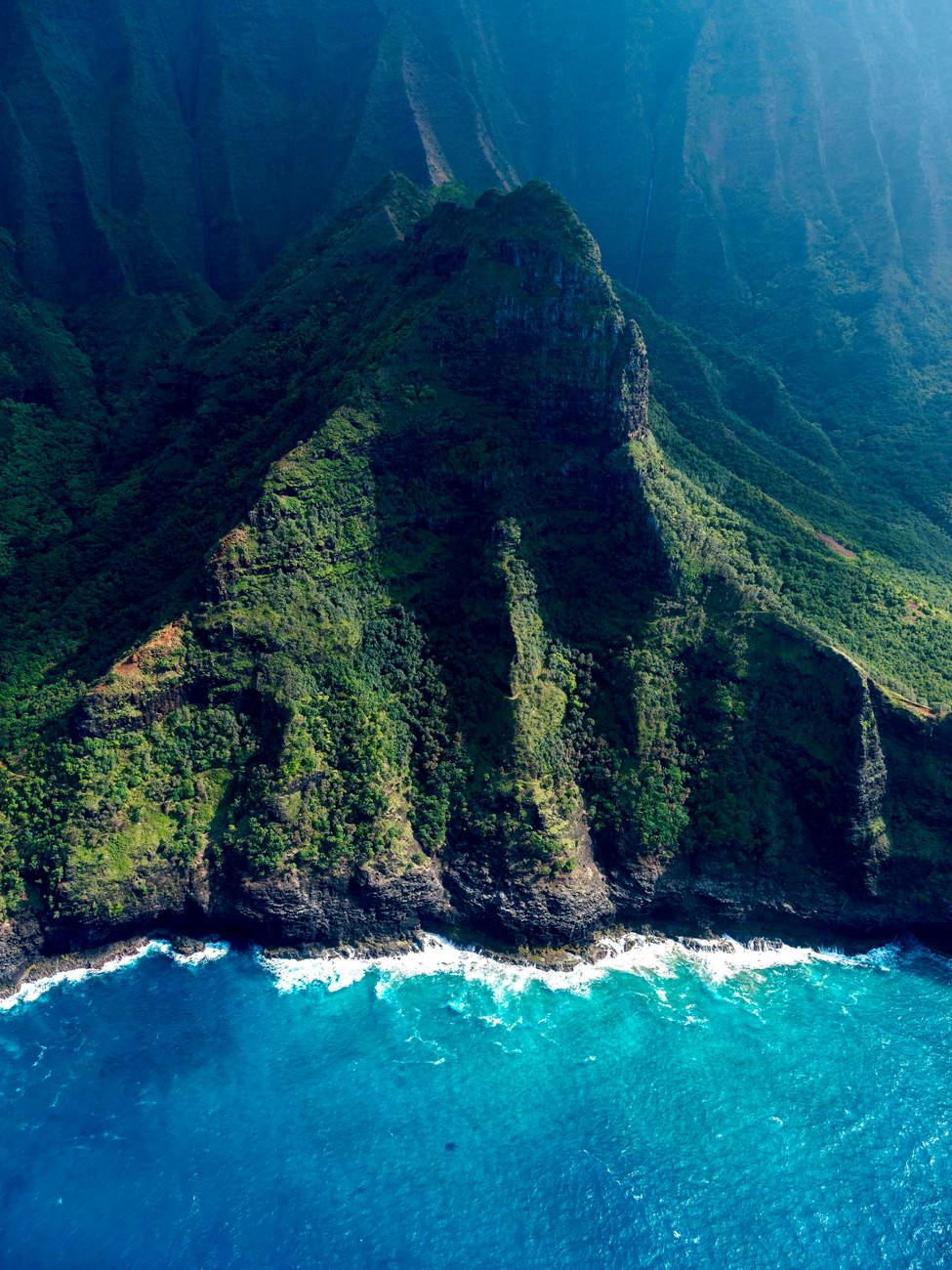 'My Rock', Napali Coast, Kauai, Hawaii