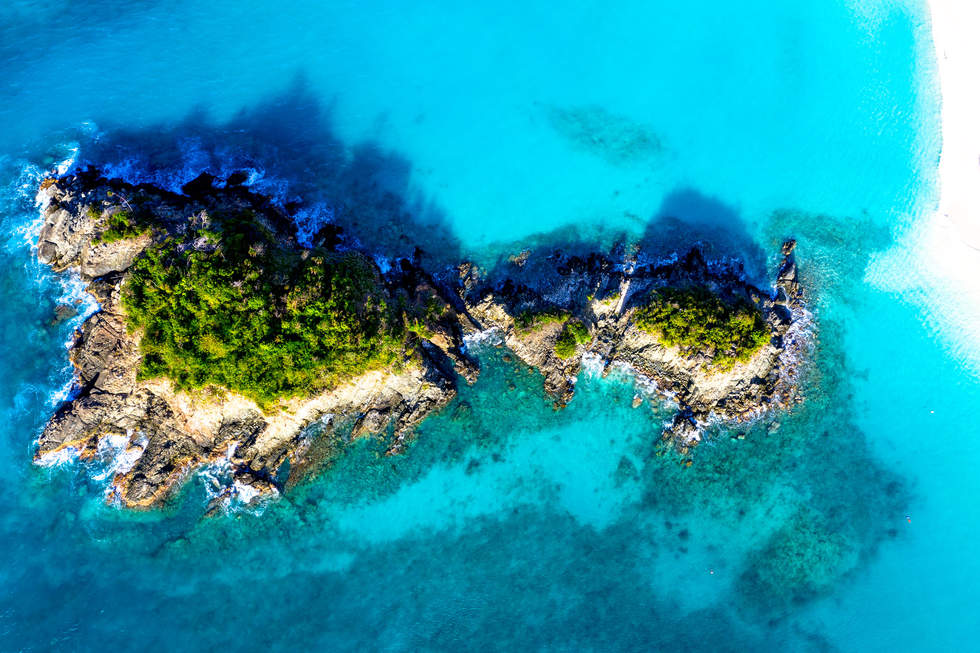 'Intertia', Trunk Bay, St John, Virgin Islands