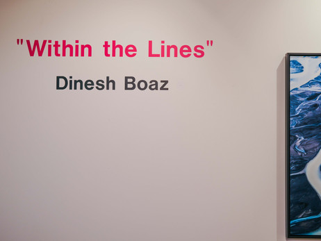 'Within The lines', dnj Gallery March 7th, Santa Monica, CA