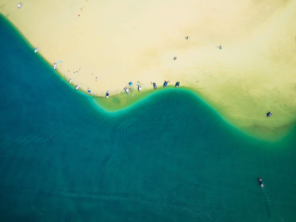 'Desert Isle', Kaneohe Bay, Oahu, hawaii