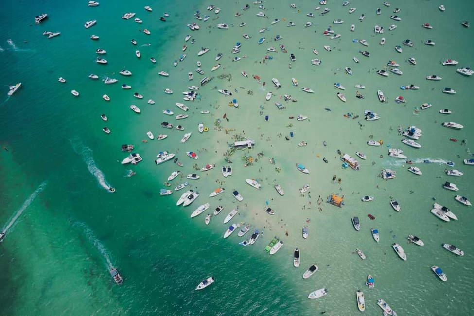 'We Came to Party' - Haulover Sandbar, Miami