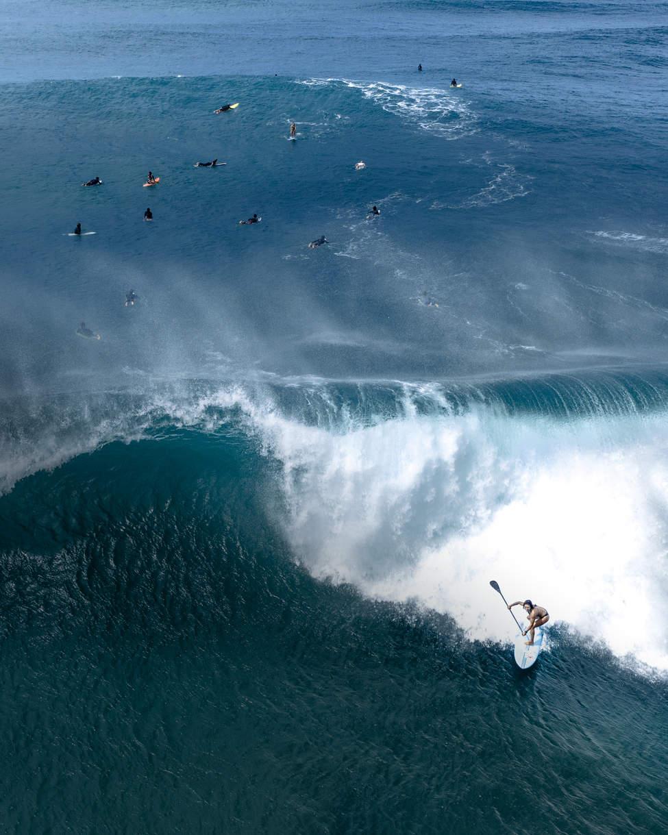 'Paddle Rider', North Shore, Hawaii
