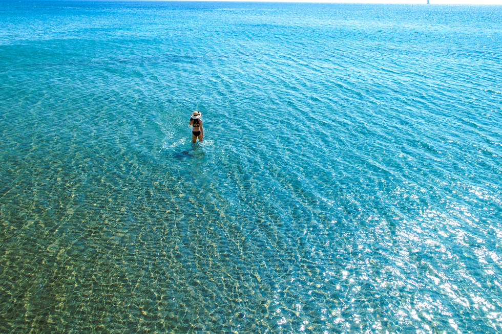 'She Walks', Erikoussa, Greece