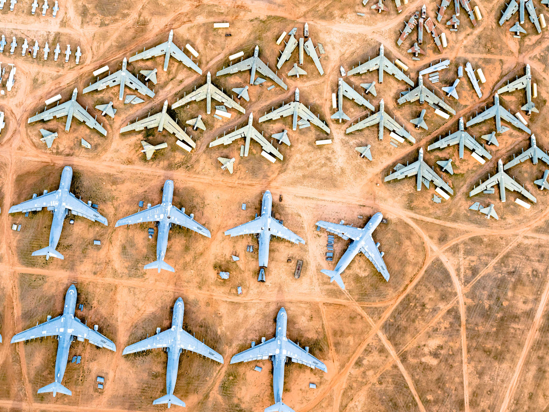 'Squadron', Davis-Monthan Air Force Base, Tucson, Arizona