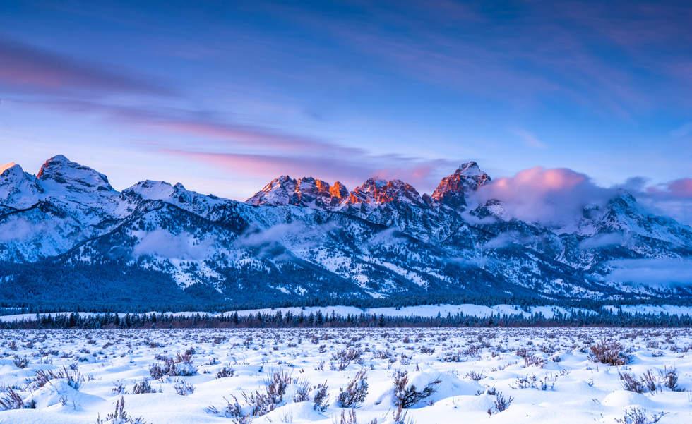 'Glow', Jackson Hole, Wyoming