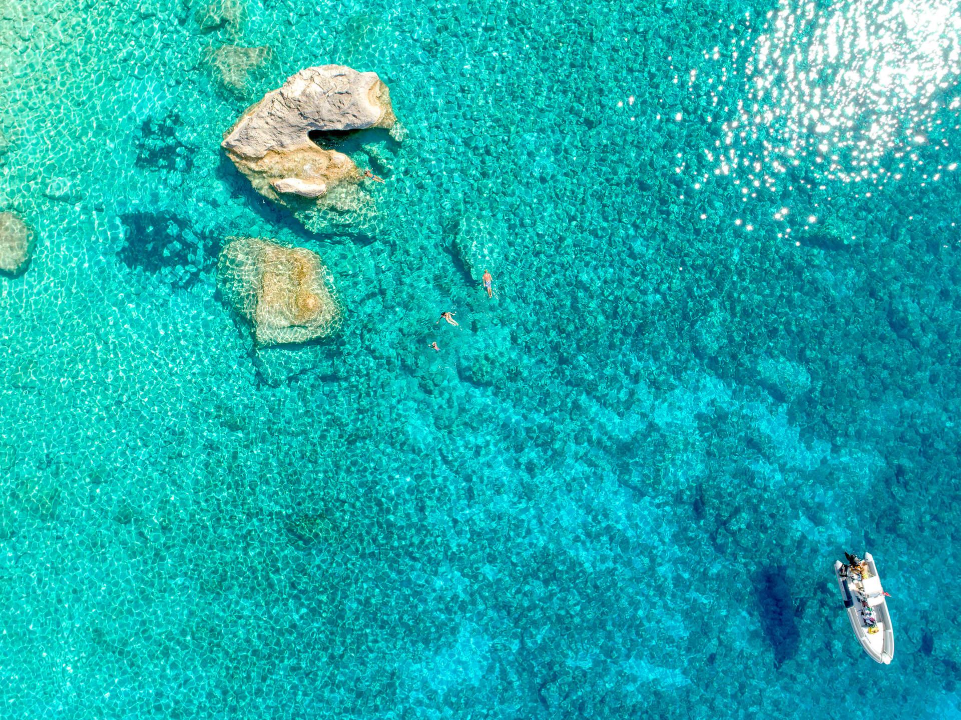 'Escaping', Calypso Beach, Othonoi, Greece