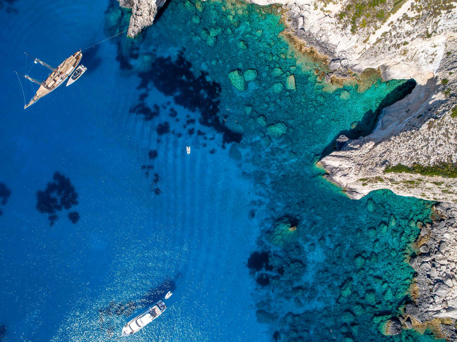 'Blue Dream', Calypso Cave, Othonoi, Greece