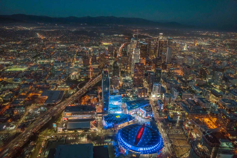'DTLA', Los Angeles, California