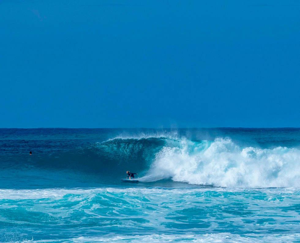 'Swells', Banzai Pipeline, North Shore, Hawaii