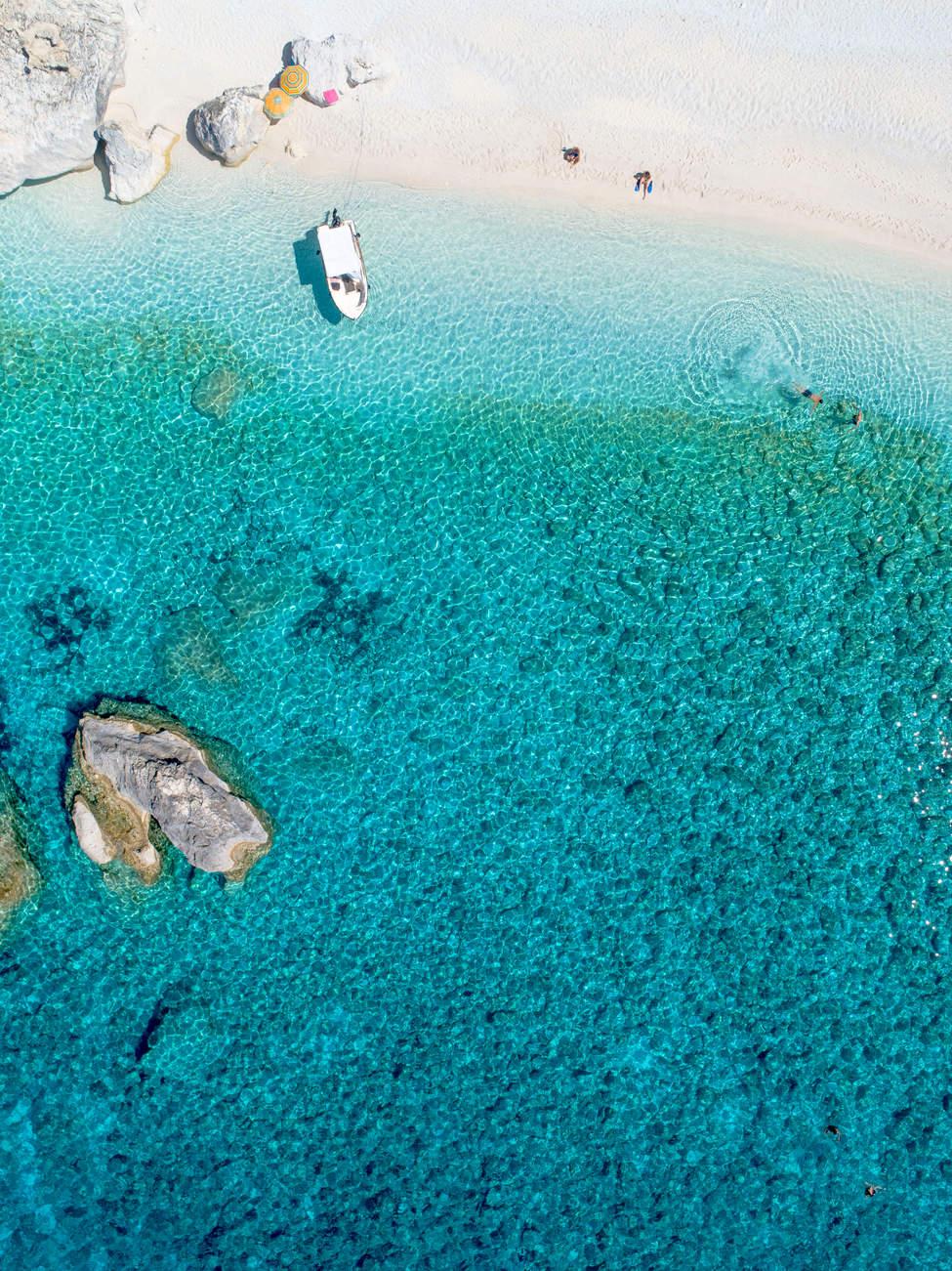 'Simple Things', Calypso Beach, Othonoi, Greece
