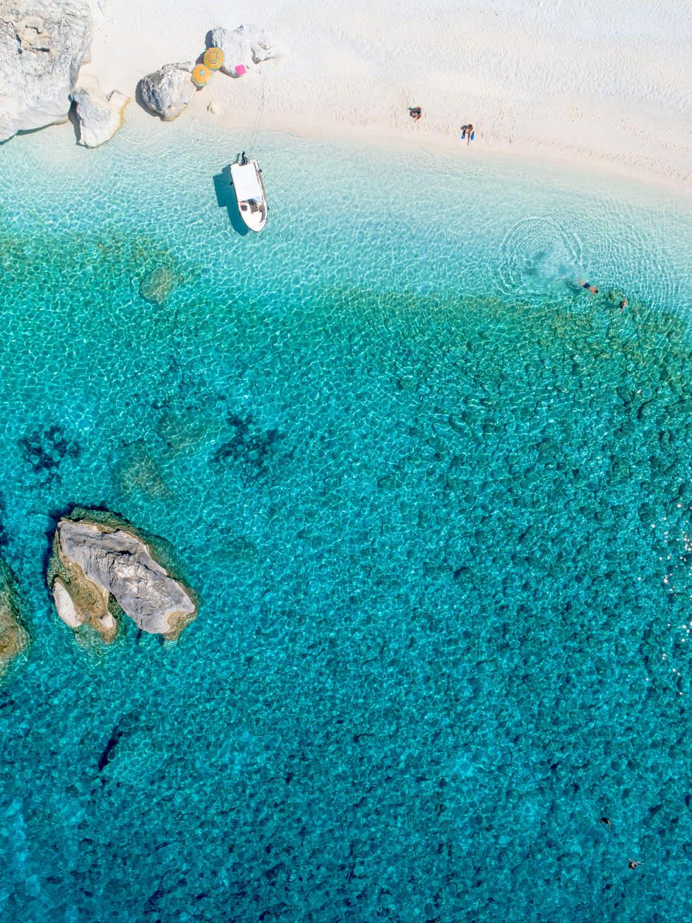 'Simple Things', Calypso Beach, Greece