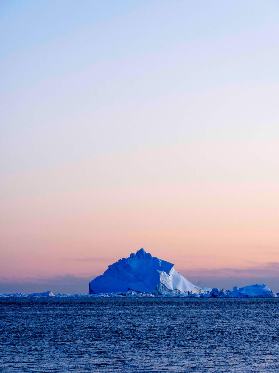 'Rising', Icefjord Glacier, Illustiat, Greenland