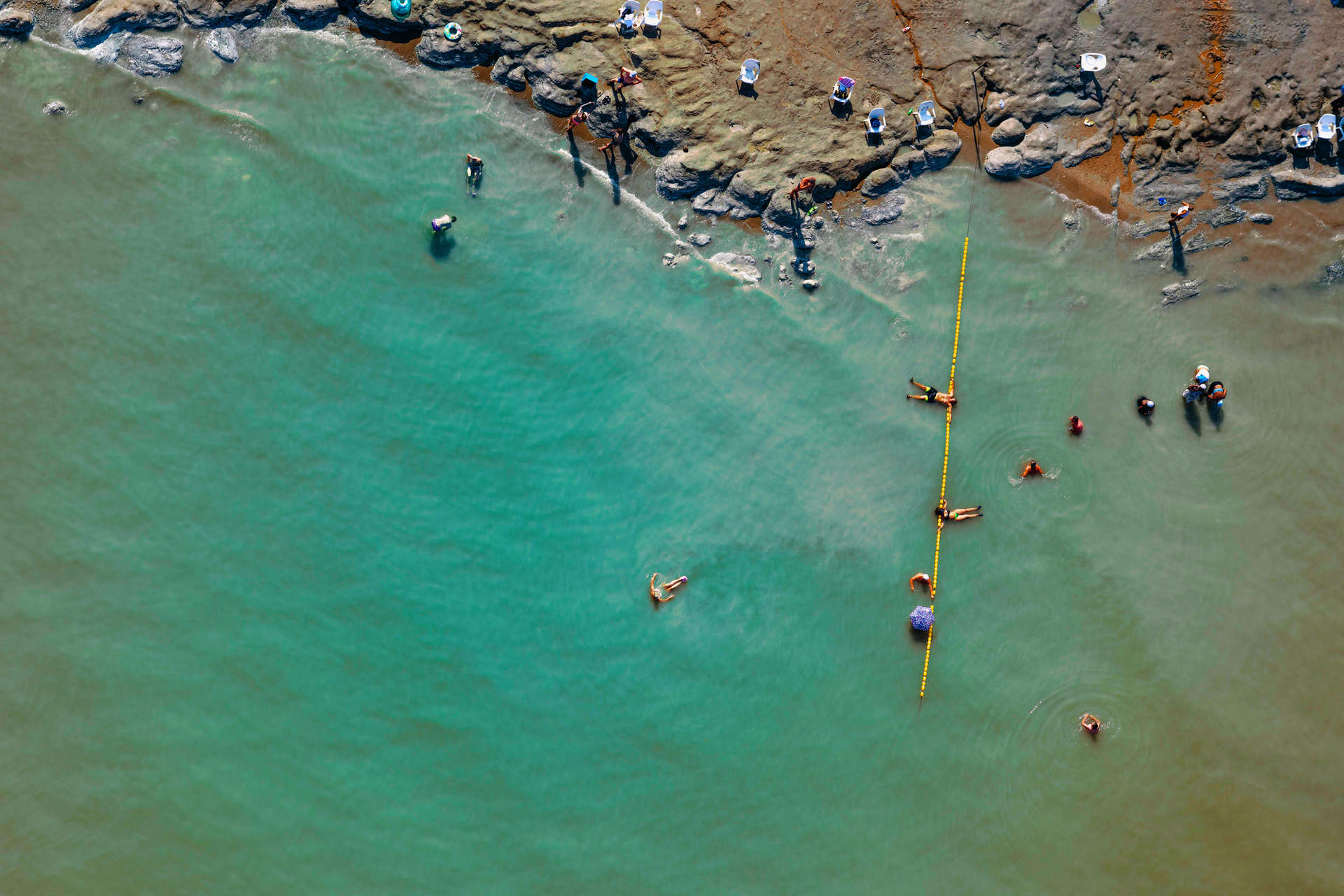'Slowly Drifting', Dead Sea, Israel