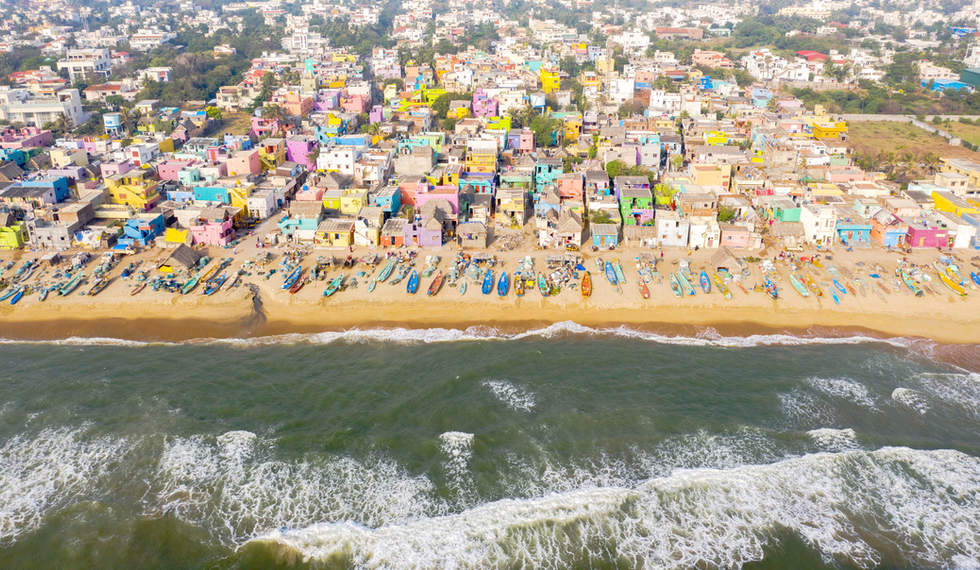 'Crayon Coast'...Neelangari Beach, Chennai, India