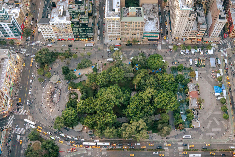 'True Greens', Union Square, NYC
