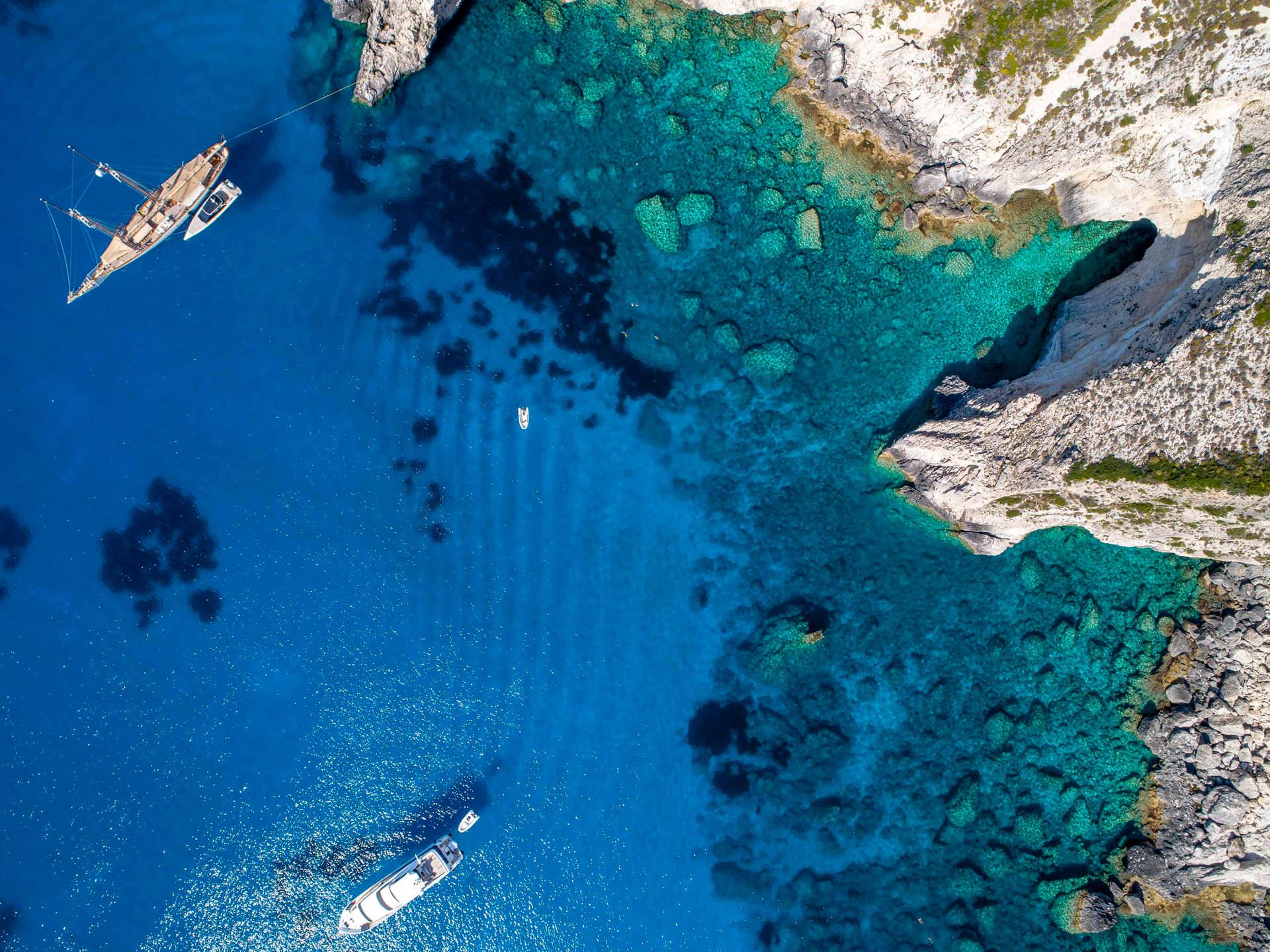 'Blue Lagoon', Calypso Beach, Othonoi, Greece