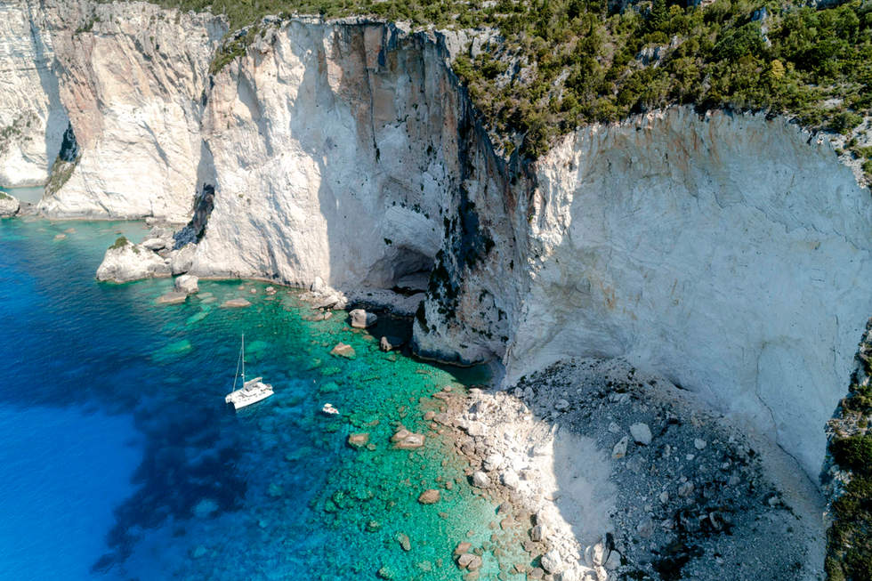 'The Edge', Antipaxos, Greece