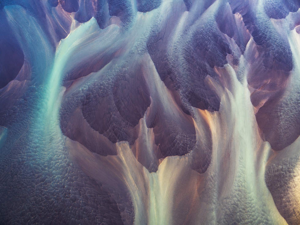 'Eyes Wide Shot', Eyjafjallajökull glacial rivers, Iceland