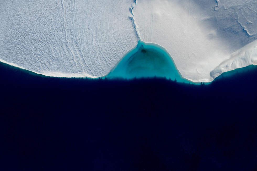 'Half Full', Icefjord Glacier, Illustiat, Greenland