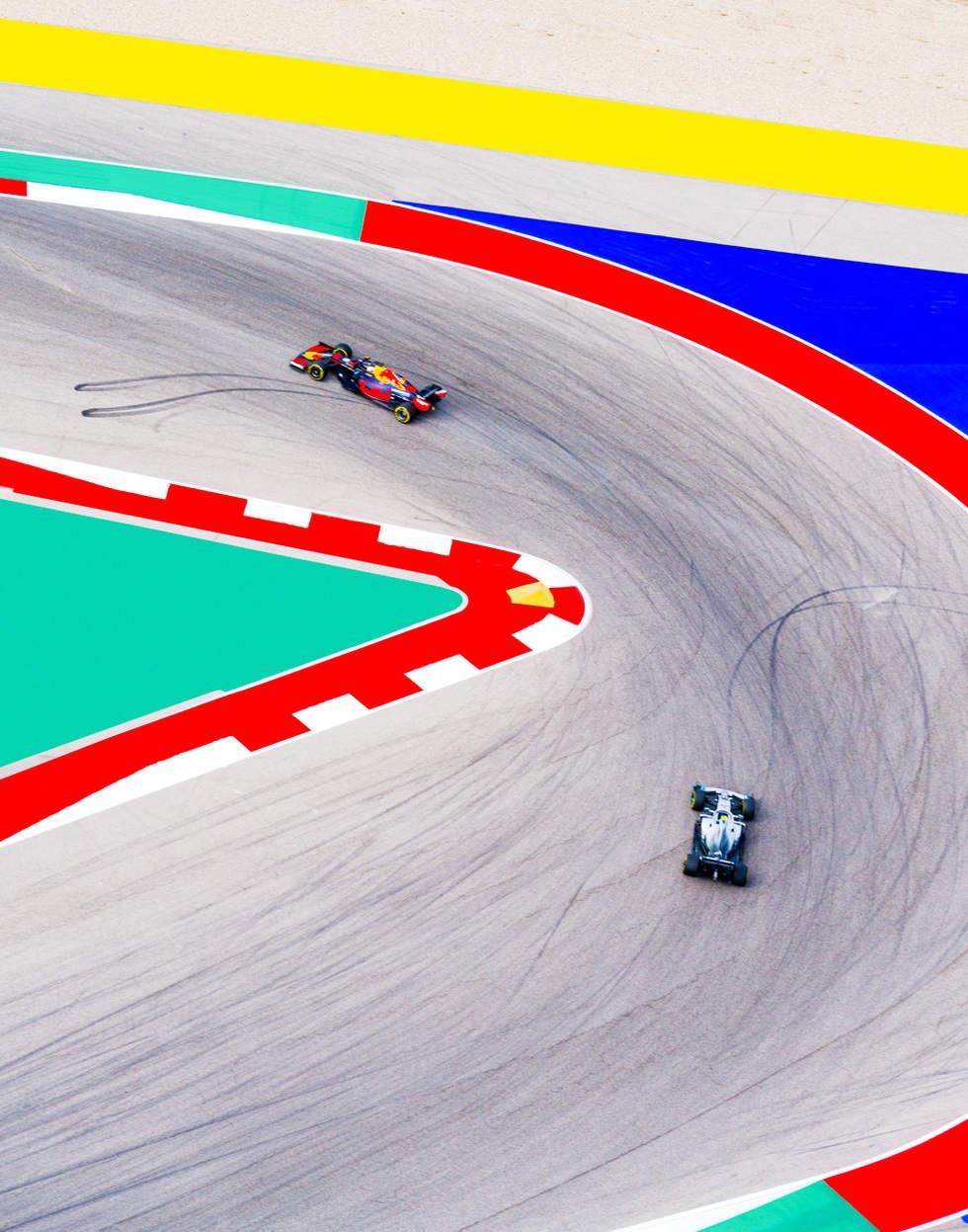 'Curves', Formula 1 USA Grandprix, Austin, Texas