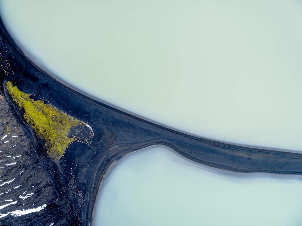 'Magnetic', Eyjafjallajökull glacial rivers, Iceland